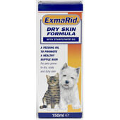 Bob Martin Exmarid Dog & Cat Dry Skin Formula Starflower Oil 150ml