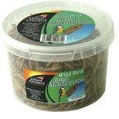10 x Dawn Chorus Dried Mealworms Medium Tub 90g