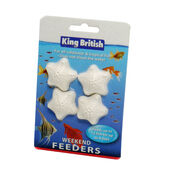 12 x King British Weekend Feeders (4 Per Card)