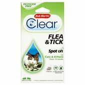 Bob Martin Cat Flea & Tick Spot On 24 Weeks Protection