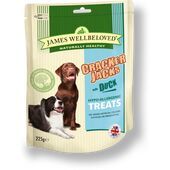 James Wellbeloved Crackerjacks Duck Dog Treats - 225g