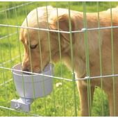 Back-2-Nature Crock Food & Water Bowl For Dog Cage Giant 1200ml