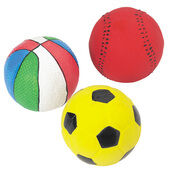 6 x Good Boy Sporty Balls 75mm (2.75