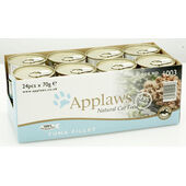 24 x Applaws Cat Can Tuna Fillet 70g
