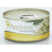 24 x Applaws Cat Can Chicken Breast 156g