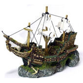 Classic Romantic Wrecks Galleon With Sails 330mm