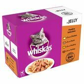 48 x Whiskas Pouch Jelly Poultry 100g