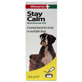 Bob Martin Vetzyme Dog Stay Calm Nutritional Oil 150ml