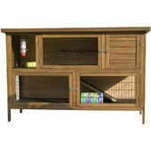 Sharples \'N\' Grant Hutch \'n\' Down Double Extra Large 5 Foot Rabbit / Guinea Pig Hutch