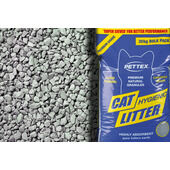 6 x 3kg Pettex Premium Grey Cat Litter