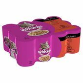 Whiskas Can Gravy Mixed Selection