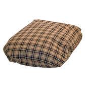 Danish Design Classic Check Cream Fibre Dog Bed