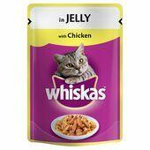 24 x Whiskas Pouch Jelly Chicken 100g