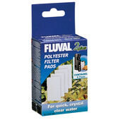 Fluval 2 Plus Replacement Polyster Pad 4pack