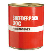 Breederpack Dog Premium Chunks Giant 6pack 800g