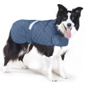Cosipet Navy Blue Weather Resistant Anorak Dog Coat