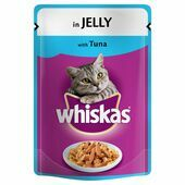 24 x Whiskas Pouch Jelly Tuna 100g