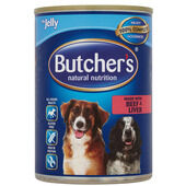 12 x Butcher's Can Beef & Liver with Jelly 400g
