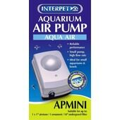 Interpet Aquarium Air Pump Aqua Air Apmini