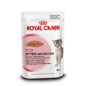 Royal Canin Instinctive Kitten (4 - 12 Months) Food Gravy Pouch 12 x 85g