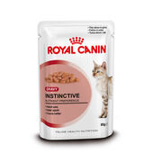 Royal Canin Instinctive Adult Cat Food Gravy Pouch 12 x 85g