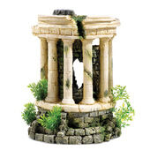 Classic Ancient Ruins Roman Tower With Plants & Air 285mm
