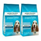 2 x 12kg Arden Grange Puppy/Junior Chicken & Rice Dog Food