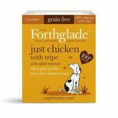 18 x 395g Forthglade Just Chicken With Tripe Wet Dog Food