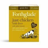 18 x 395g Forthglade Just Chicken With Liver Wet Dog Food
