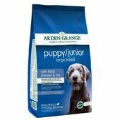 Arden Grange Puppy/Junior Large Breed Chicken and Rice Dog Food