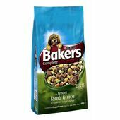 Bakers Complete Lamb, Rice & Veg Adult Dog Food With Meaty Chunks