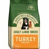 James Wellbeloved Large Breed Turkey & Rice Dry Dog Food
