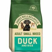 James Wellbeloved Small Breed Duck & Rice Adult Dry Dog Food