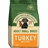 James Wellbeloved Small Breed Turkey & Rice Adult Dry Dog Food