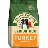 James Wellbeloved Turkey & Rice Senior Dry Dog Food