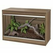 Vivexotic Repti-Home Small Vivarium - Walnut