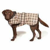 Danish Design Luxury Classic Check Dog Coat