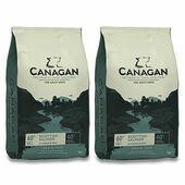 2 x 12kg Canagan Scottish Salmon Grain-Free Adult Dry Dog Food Multibuy