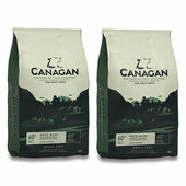 2 x 12kg Canagan Free-Run Chicken Grain-Free Adult Dry Dog Food Multibuy