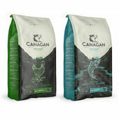 2 x 12kg Canagan Salmon & Chicken Grain Free Dry Dog Food Multibuy