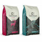 2 x 12kg Canagan Salmon & Game Grain Free Dry Dog Food Multibuy