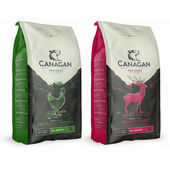2 x 12kg Canagan Game & Chicken Grain Free Dry Dog Food Multibuy