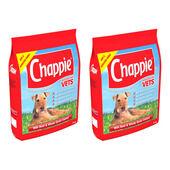 2 x 15kg Chappie Beef & Wholegrain Adult Dog Food