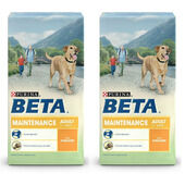 2 x 14kg Purina Beta Pet Maintenance Chicken Adult Dry Dog Food