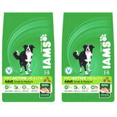 Iams Multi-Buy Small & Medium Breed Chicken Adult Dog Food - 2 x 12kg