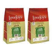 2 x 12kg Lovejoys Lamb & Rice Dry Adult Dog Food Multibuy