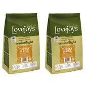 2 x 12kg Lovejoys Hypoallergenic Senior/Light Turkey & Rice Dry Dog Food Multibuy