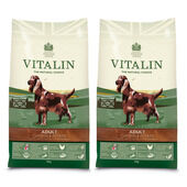 Vitalin Multi-Buy Chicken & Potato Adult Dry Dog Food - 2 x 12kg