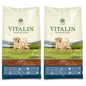 Vitalin Chicken & Rice Dry Puppy Food - 2 x 12kg