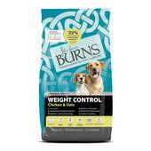 Burns Weight Control+ Chicken & Oats Adult & Senior Dog Food